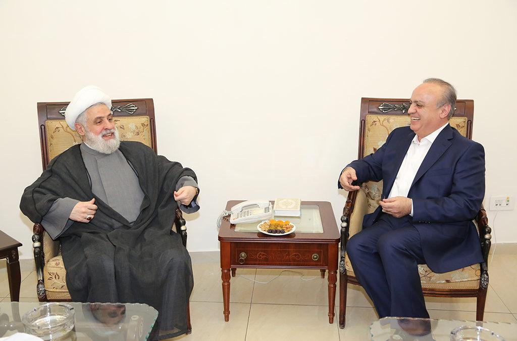 وهاب بعد زيارته الشيخ نعيم قاسم: ليكن الصح في المكان الصح