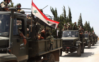عملية واسعة للجيش السوري في ريفي حماه