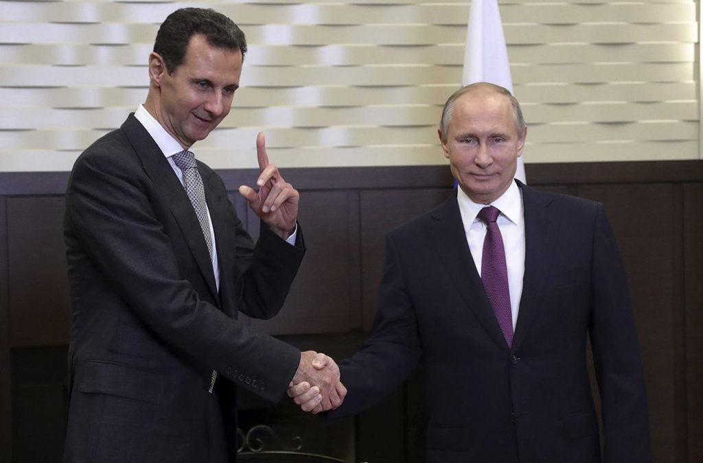 9 دول تريد اشراك سوريا في مؤتمر القمة العربية وبوتين للأسد اردوغان سيستقبلك على المطار