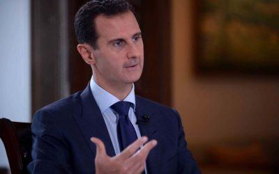 """تصريح الأسد بأن أردوغان """"اخونجي"""" و""""أجير صغير"""" عند الاميركان يضج العالم"""