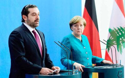 الحريري: الحل الوحيد للنازحين بعودتهم الى سوريا بشكل آمن وكريم ميركل: للتنسيق مع المنظمات الدولية للوصول الى اتفاق