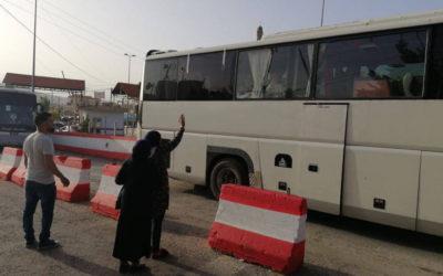 الأمن اللبناني ينظم عودة دفعة جديدة من اللاجئين السوريين إلى بلادهم