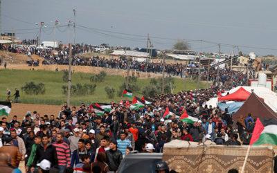 """المسيرة مستمرة حتى تحقيق اهدافها… جماهير غزة تتجهز لـ """"جمعة التراحم والتكافل"""""""
