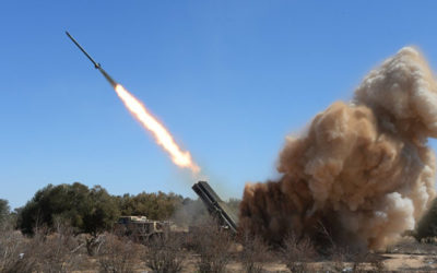 المضادات الأرضية للدفاع الجوي السوري تتصدى لأهداف إسرائيلية فوق القنيطرة