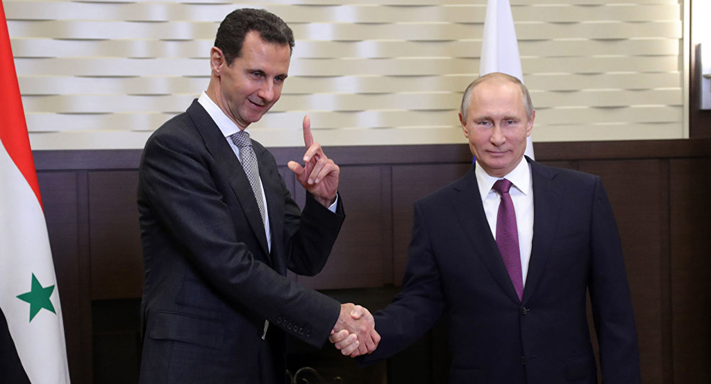 الكرملين: بوتين أجرى مكالمة هاتفية مع الرئيس السوري بشار الأسد