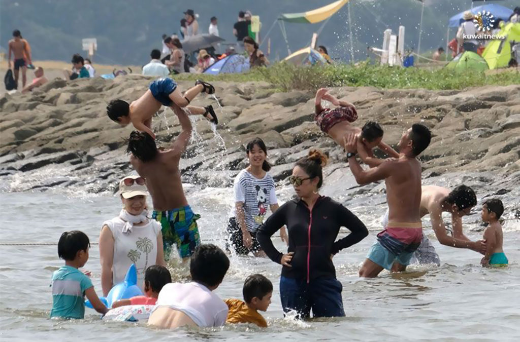 موجة حر غير مسبوقة في اليابان تودي بحياة 65 شخصا خلال أسبوع