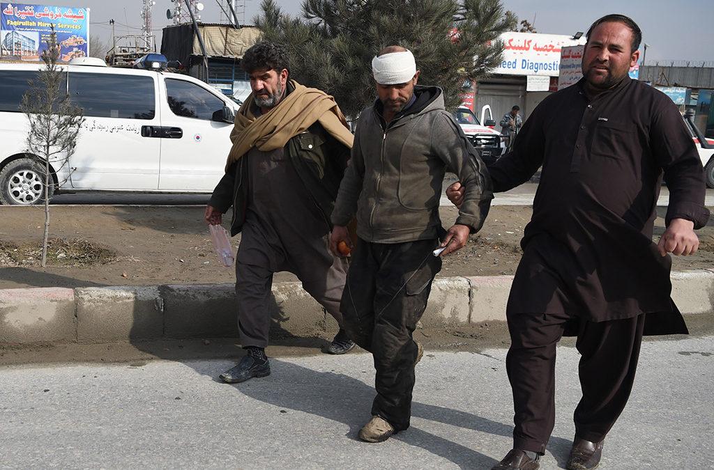 ثلاثة جرحى على الاقل في سقوط صواريخ على كابول