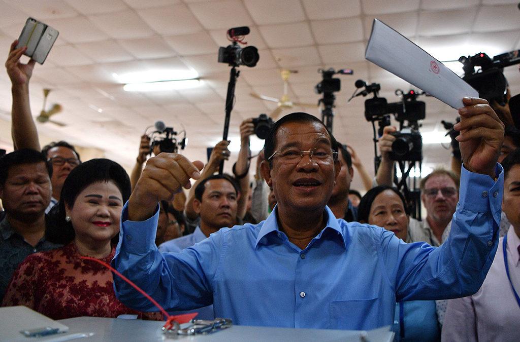 الحزب الحاكم في كمبوديا اعلن فوزه بكل المقاعد في الانتخابات التشريعية