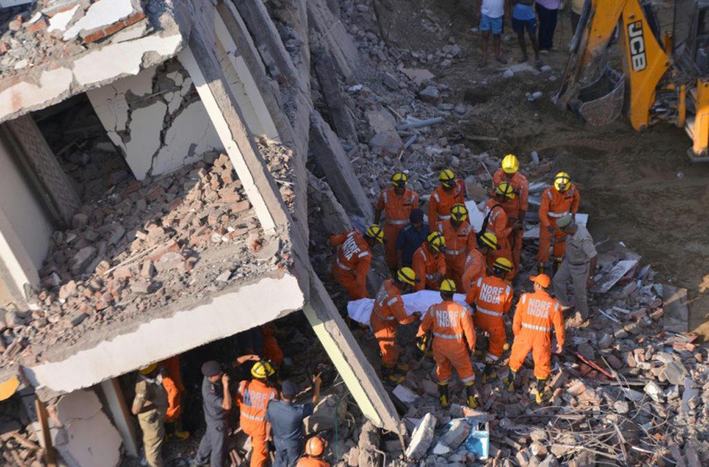 ارتفاع حصيلة انهيار مبنى في الهند الى 9 قتلى