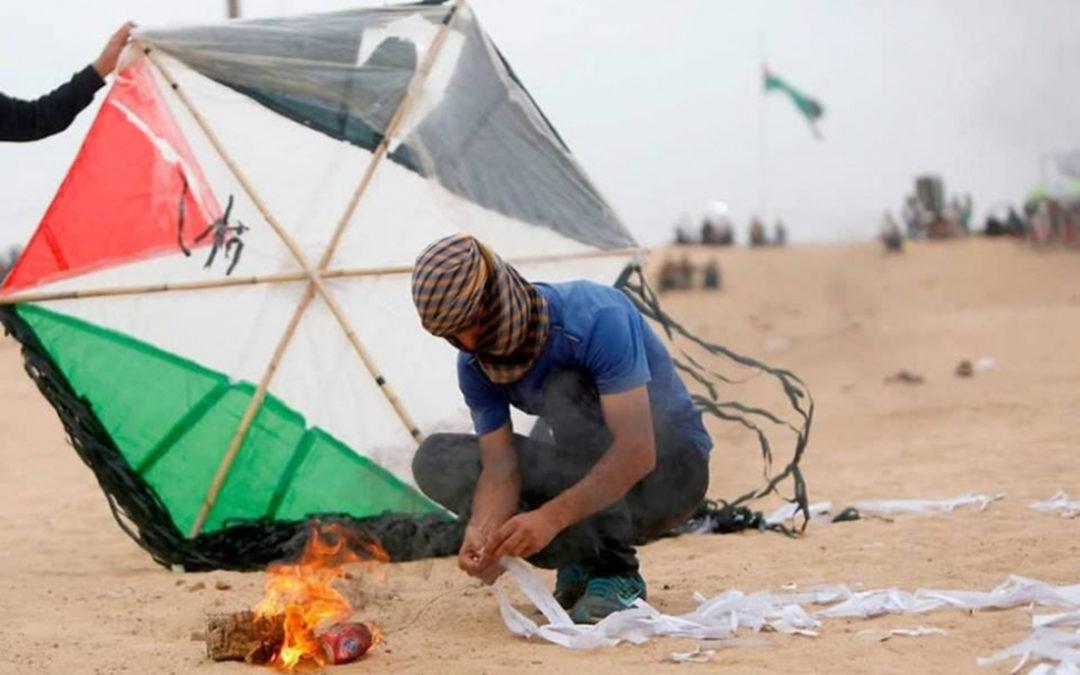 هآرتس: 29 حريقاً في غلاف غزة نتيجة الطائرات الورقية الحارقة