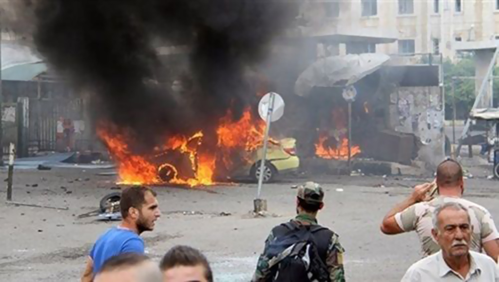 هجوم داعشي وتفجيرات إرهابية في السويداء السورية