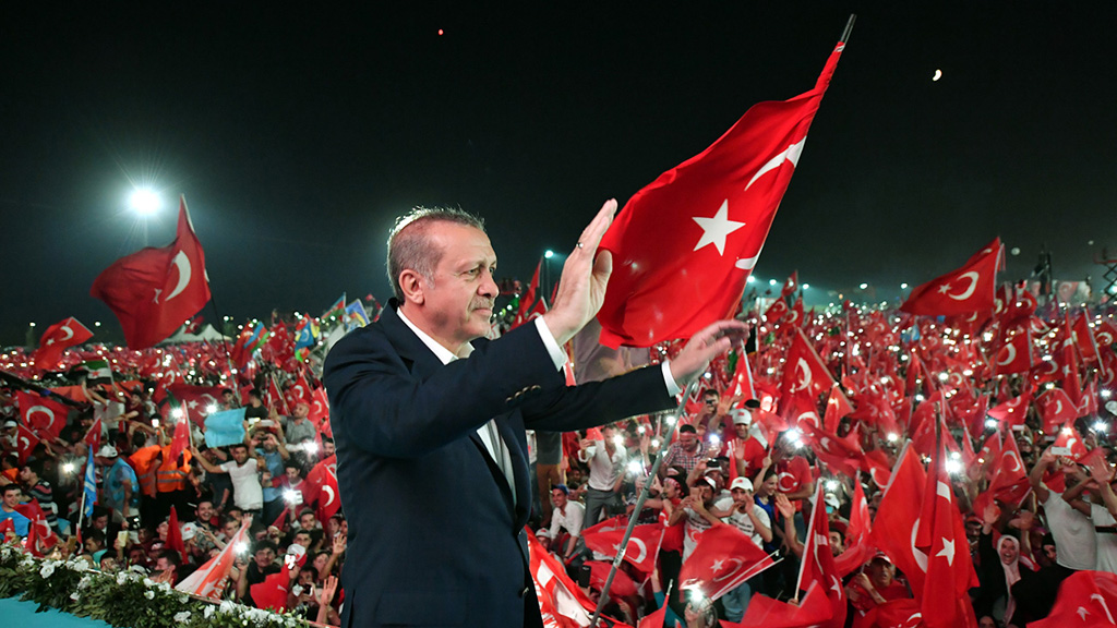 تركيا احيت ذكرى الانقلاب الفاشل اردوغان: سنلاحق المتورطين بلا كلل