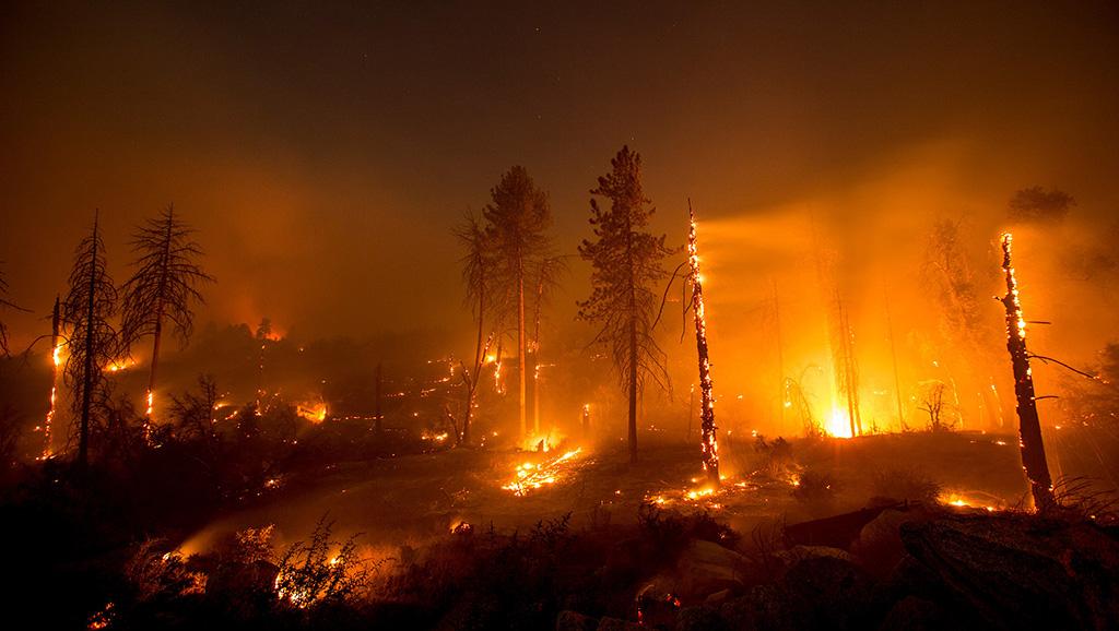 اندلاع حريق جديد في جنوب كاليفورنيا
