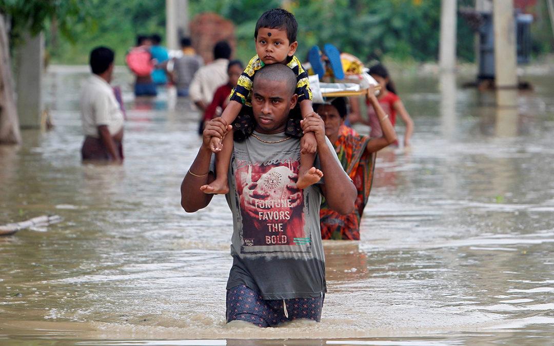 67 قتيلا و50 ألف مشرد حصيلة فيضانات كيرالا