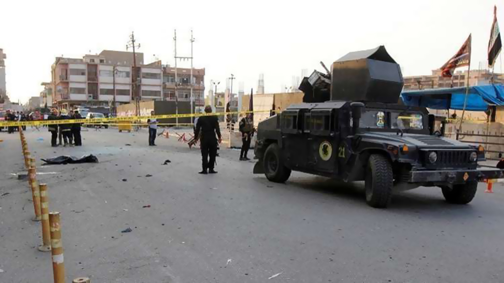 قتلى وجرحى بتفجير استهدف حاجزا للجيش العراقي في قضاء القائم بالأنبار