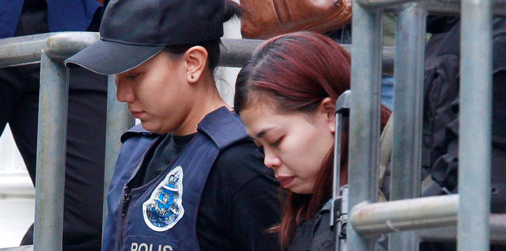 محاكمة المتهمتين باغتيال الأخ غير الشقيق لزعيم كوريا الشمالية