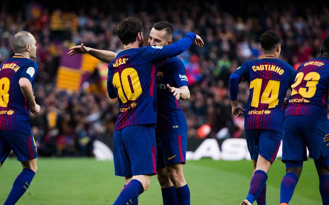 فوز كبير لبرشلونة ونابولي يهزم ليفربول