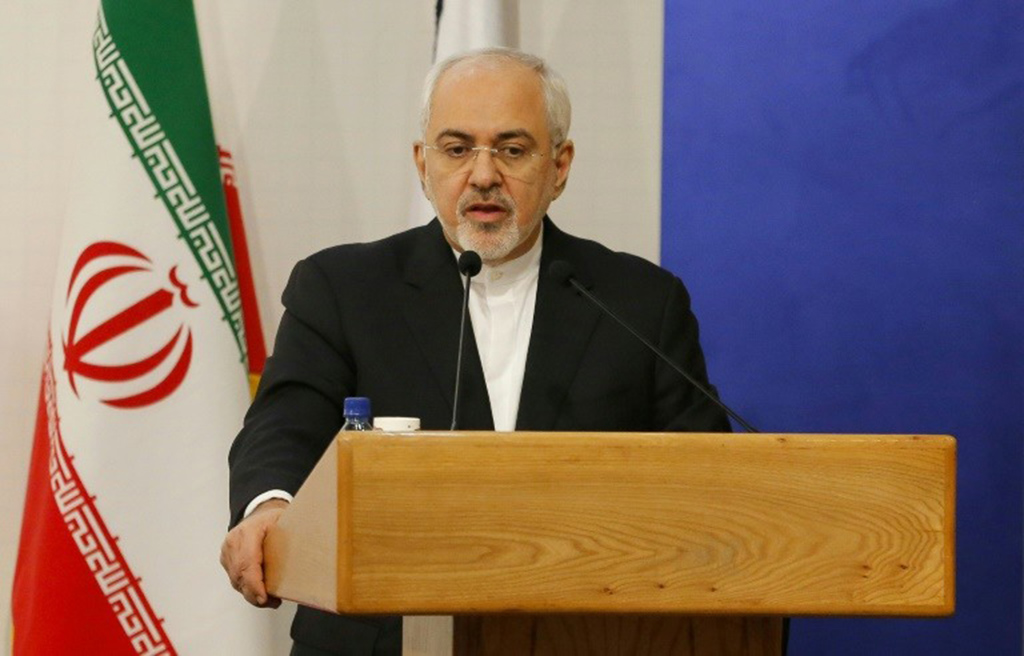 ظريف رفض اتهامات العدو الاسرائيلي لإيران بحيازة مخزن سري نووي
