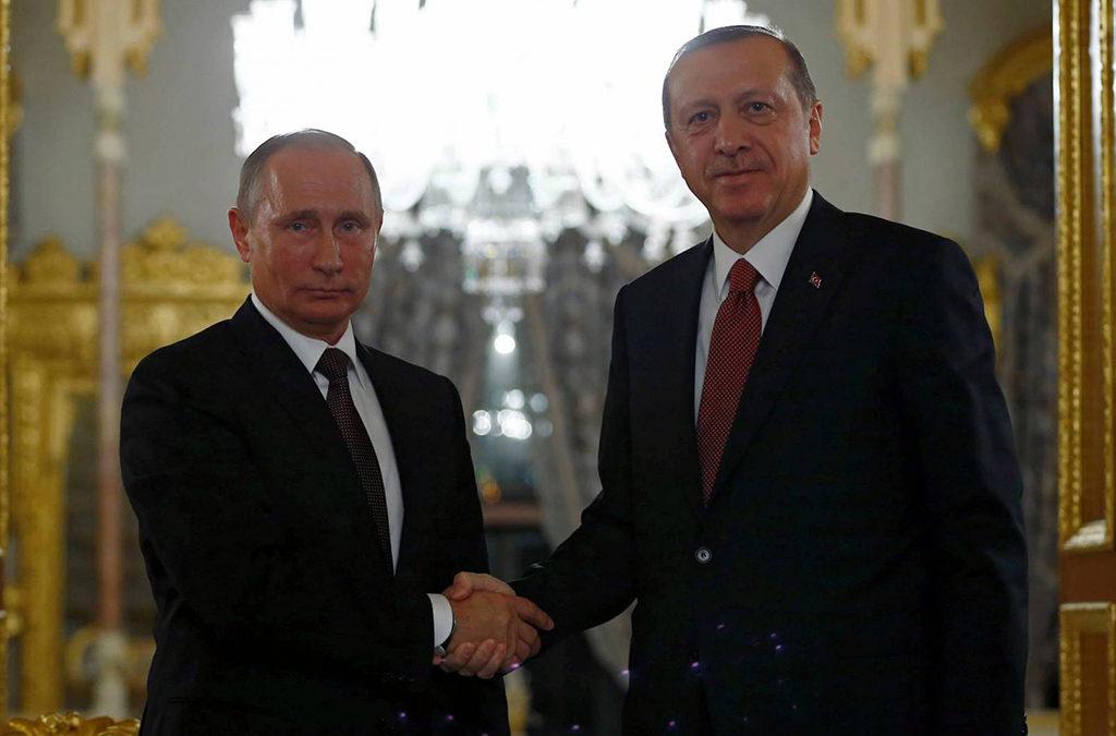 اردوغان يلتقي بوتين الاثنين في سوتشي لبحث الملف السوري