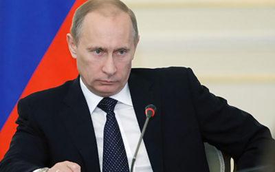 بوتين: من الضروري إنهاء أعمال العنف من الجانبين الإسرائيلي والفلسطيني