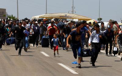 أكثر من 2500 عائلة نازحة سورية سجلت اسمها طوعا للعودة