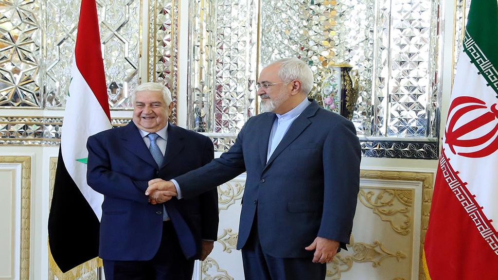ظريف في دمشق في زيارة لم يعلن عنها مسبقا