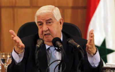 المعلم: افتتاح سفارة أبخازيا في سوريا قد يشجع الآخرين على إعادة فتح سفارتهم