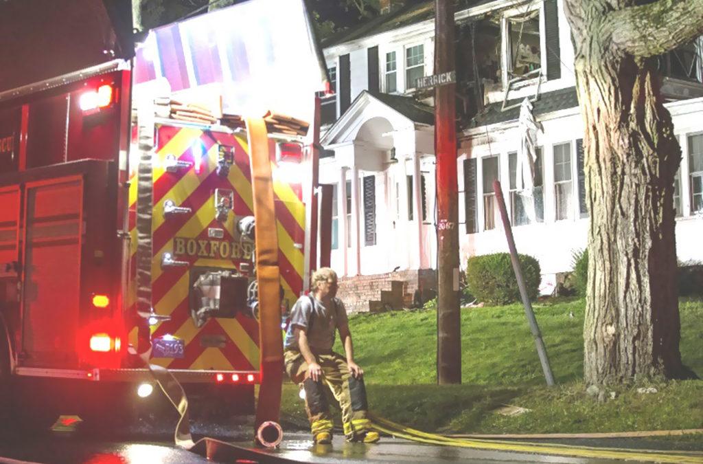 سلسلة انفجارات يرجح ارتباطها بتسرب للغاز قرب بوسطن