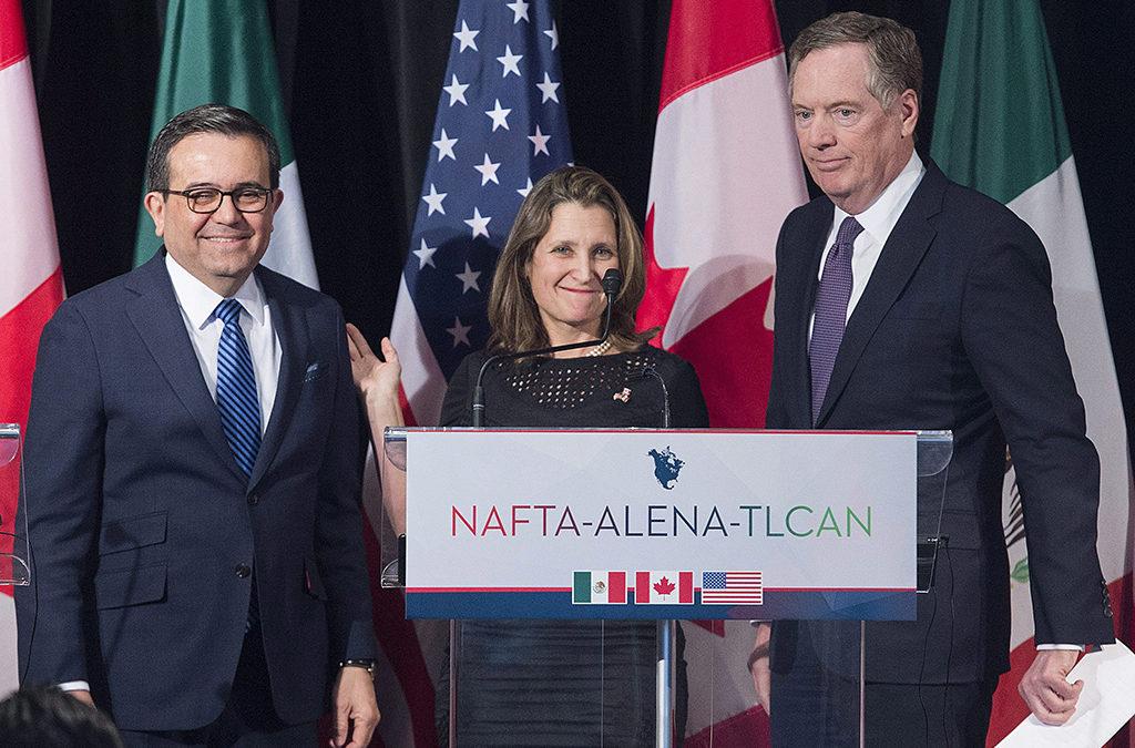مفاوضات نافتا بين كندا والولايات المتحدة تتواصل اليوم