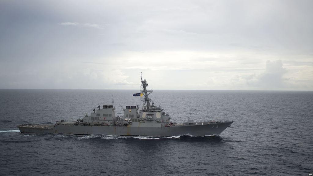 سفينة حربية صينية اقتربت لمسافة خطرة من مدمرة أميركية