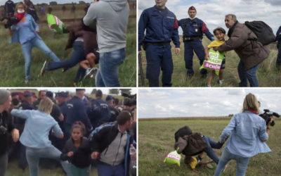 أتذكرون المصوّرة التي ركلت مهاجرين… ما رأيكم بقرار المحكمة العليا؟