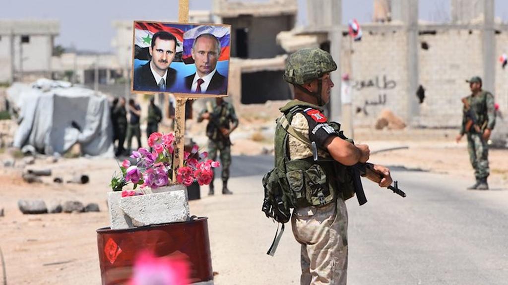 روسيا وجيشها يساهمان في إعادة بناء محافظة درعا السورية