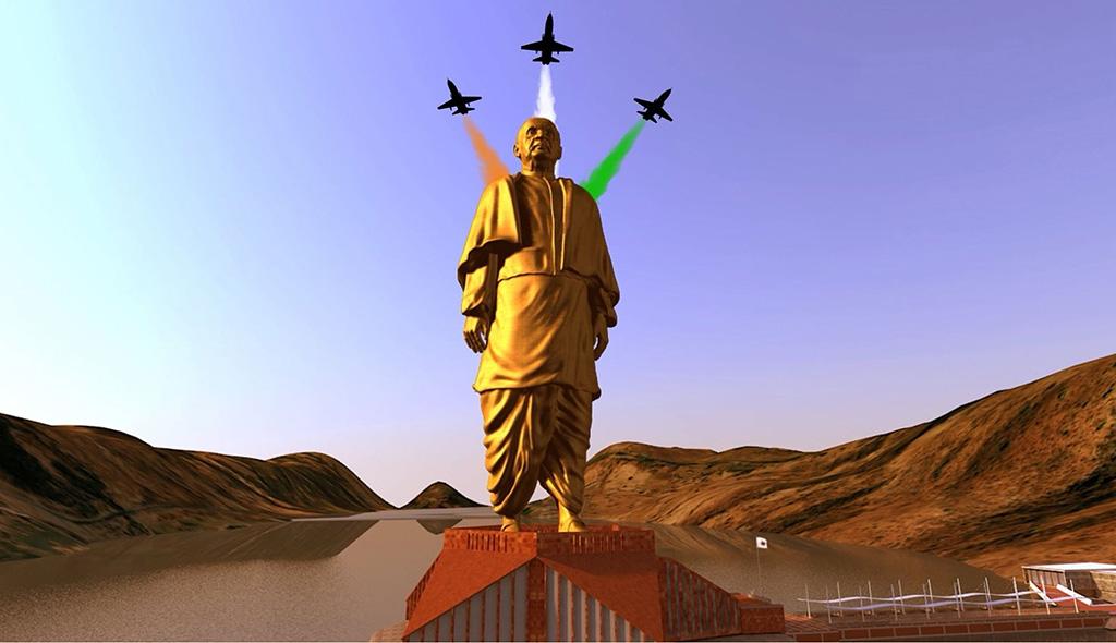 الهند تزيح الستار عن أعلى تمثال في العالم