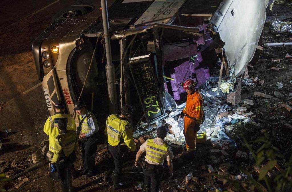 5 قتلى و31 جريحا بحادث سير في هونغ كونغ