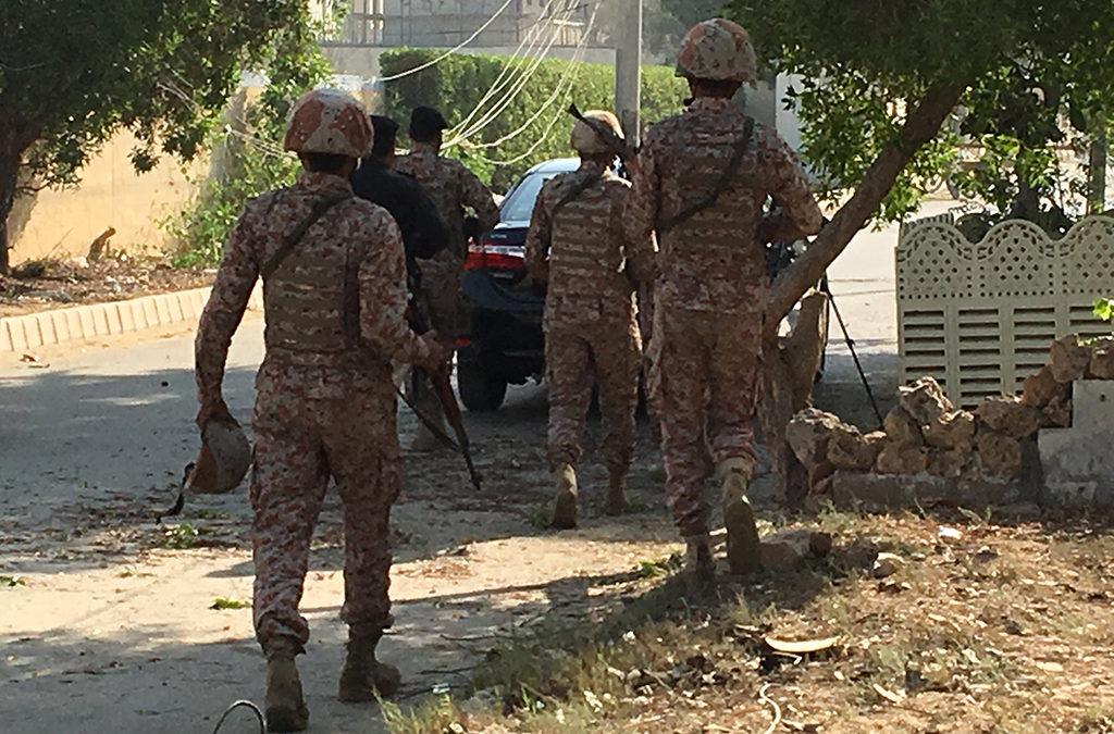 مجموعة انفصالية باكستانية تبنت الهجوم على قنصلية الصين في كراتشي