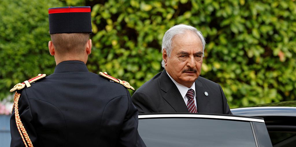 حفتر لن يشارك في مؤتمر باليرمو حول ليبيا