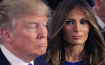 الرئيس الأمريكي دونالد ترامب يعلن عن إصابته وزوجته ميلانيا بفيروس كورونا