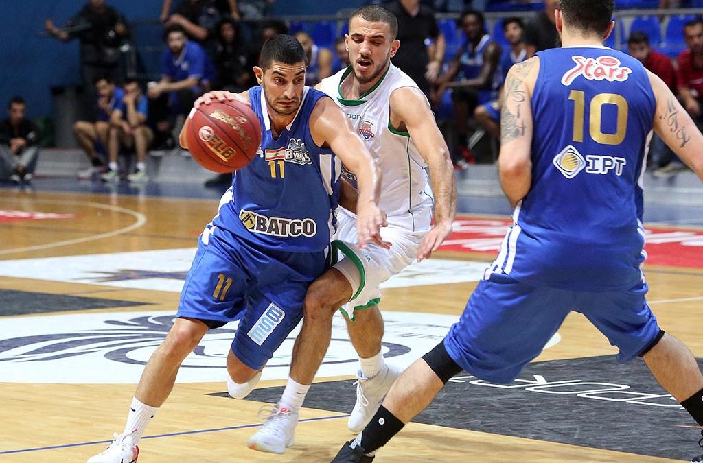 بطولة لبنان في كرة السلة: الشانفيل يستضيف بيبلوس اليوم