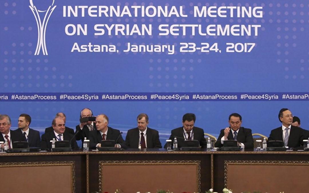 جولة محادثات جديدة عن سوريا في استانا في 28 و 29 الحالي