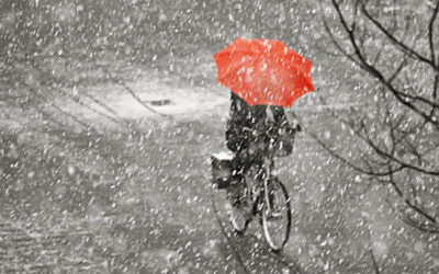 الطقس الخميس ماطر بغزارة مع انخفاض ملحوظ بالحرارة وثلوج على 1300 متر