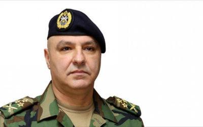 أمانة الاعلام: رسالة شكر وتقدير للجيش اللبناني قائداً وقيادة