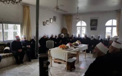 اللجنة الدينية الوطنية في جبل العرب إستنكرت التطاول السافر على وهاب
