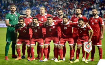 لبنان يستعد لمباراة كوريا الشمالية