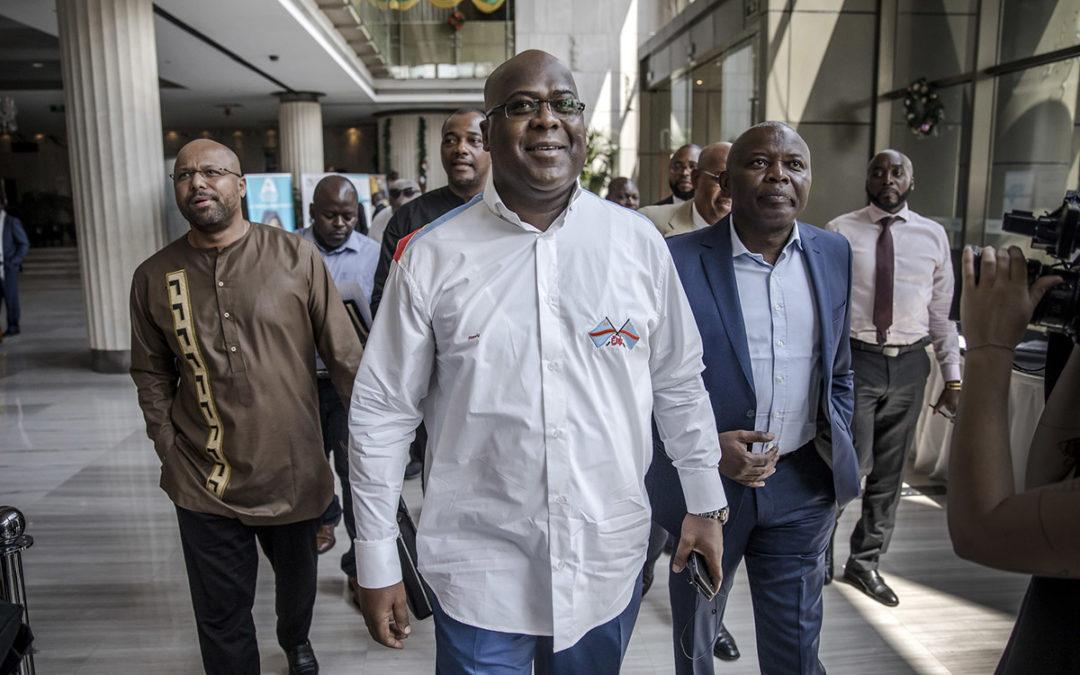 إنتخاب المعارض فيليكس تشيسيكيدي رئيساً للكونغو الديموقراطية