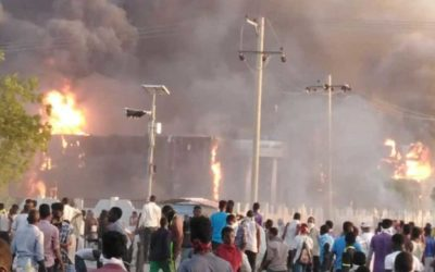 """المعارضة السودانية تزحف """"الزحف الأكبر"""" على القصر الرئاسي"""