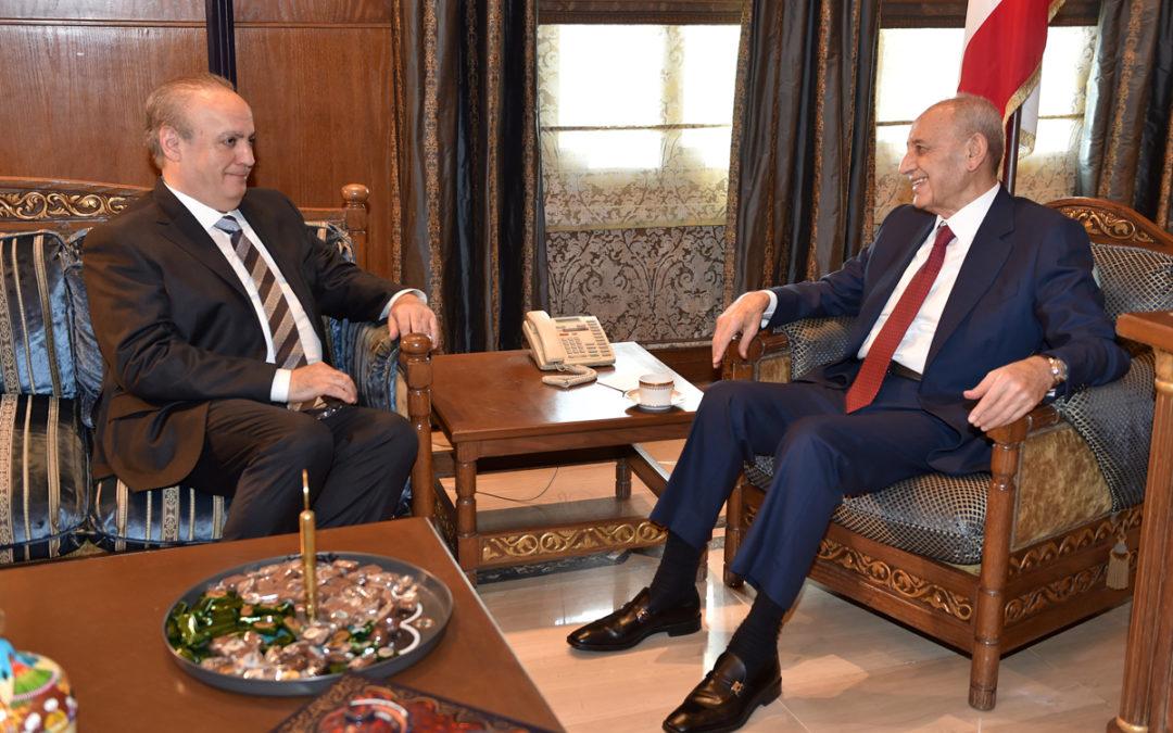 وهاب بعد زيارته برّي: لمست منه توجهاً استراتيجياً للعمل على نظام مدني بعدما أصبح مقتنعاً بفشل نظامنا السياسي