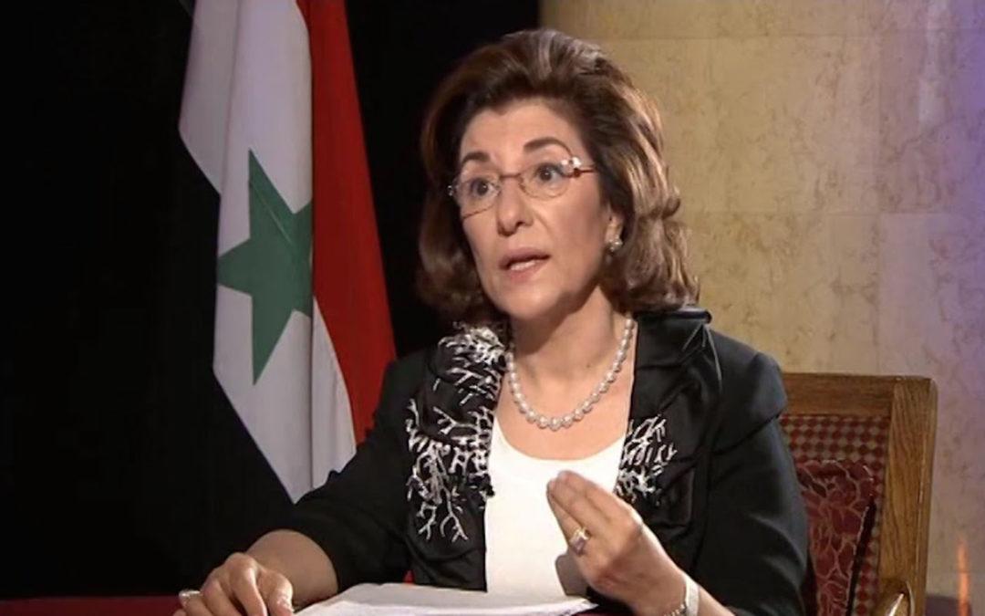 مستشارة الرئيس السوري: قوات الاحتلال الأمريكي في التنف تعرقل تحريرها