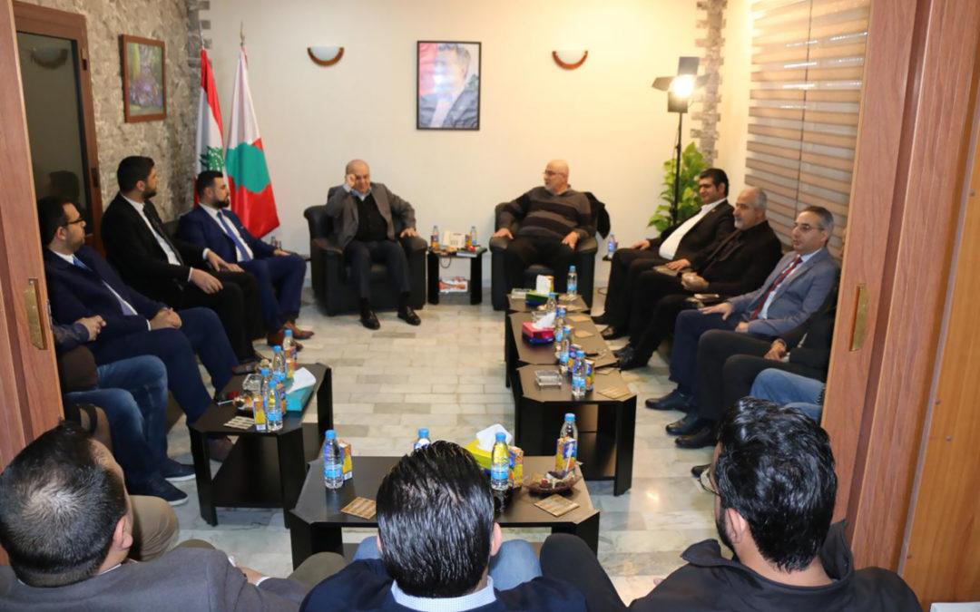 إجتماع بين الديمقراطي اللبناني والتوحيد العربي في خلدة: لقاءاتنا تصبّ في مصلحة الجبل وأهله دون استهداف لأحد