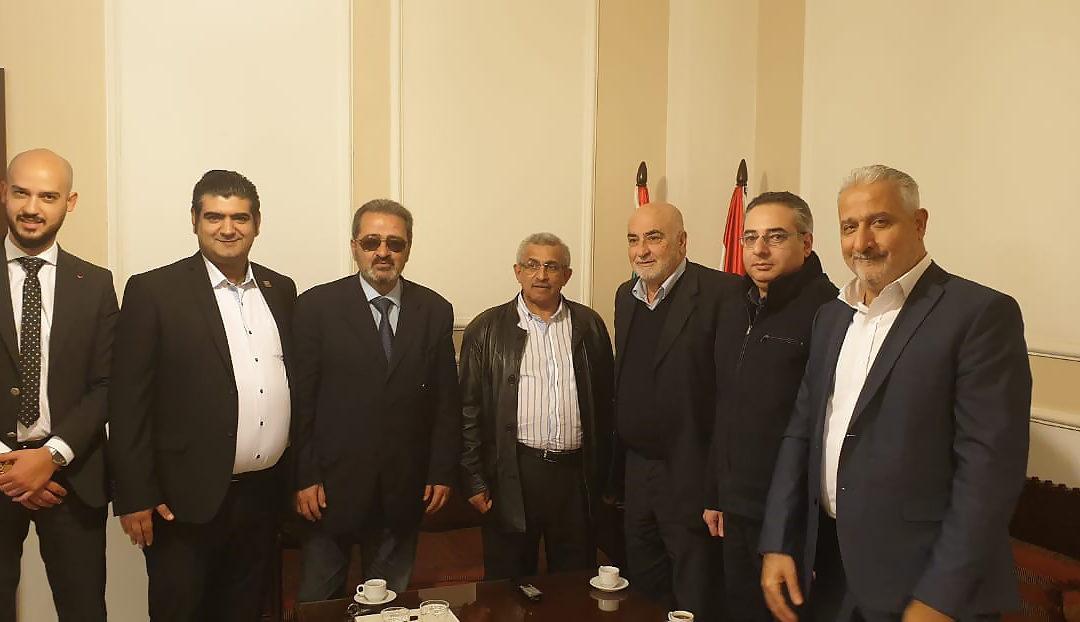 وفد من قيادة حزب التوحيد العربي زار سعد وعرض معه الأوضاع على الساحة المحلية