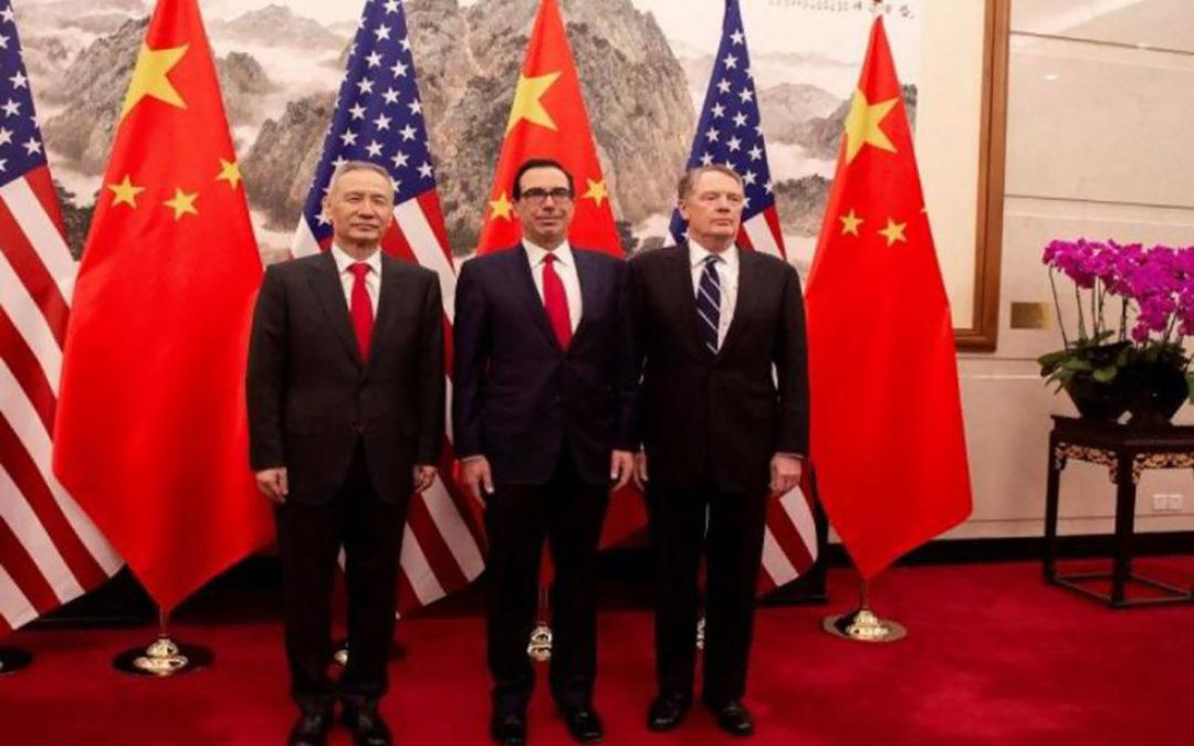 استئناف المفاوضات التجارية الأميركية الصينية في بكين